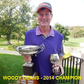 Woody Deans - 2014 Overall Points Champion